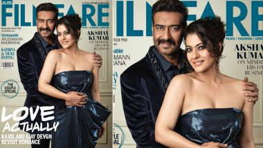 Ajay Devgn and Kajol Blend Glamour and Romance on the Latest Cover of Filmfare (View Pic)