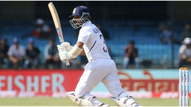 IND vs BAN, 1st Test 2019: Ajinkya Rahane, Mayank Agrawal Eye Big Scores As India Cross 300-Run Mark at Tea on Day 2