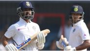 Ajinkya Rahane Completes 4000 Test Runs During IND vs BAN 1st Test, Joins Sourav Ganguly, VVS Laxman in Elite Indian List