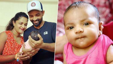 Ajinkya Rahane Shares Newborn Daughter's Name With Fans, Names Little Princess 'Aarya' (See Post)