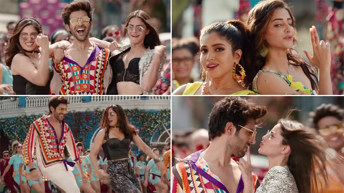 Pati Patni Aur Woh's 'Akhiyon Se Goli Mare' Song Funny Memes Will Leave Even The Fans of Kartik Aaryan, Bhumi Pednekar & Ananya Panday in Splits!