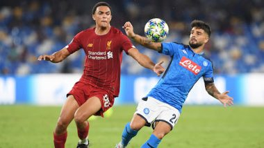 Liverpool vs Napoli, UEFA Champions League 2019–20 Live Streaming Online: Where to Watch LIV vs NAP Group Stage Match Live Telecast on TV & Free Football Score Updates in Indian Time?