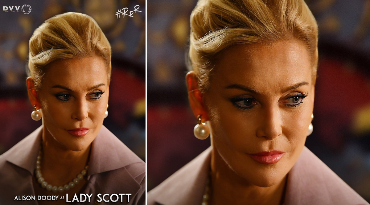 RRR: CONFIRMED! Bond Girl Alison Doody to Play the Lead Antagonist in SS Rajamouli's Ram Charan-Jr NTR Starrer