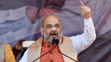 Jharkhand Assembly Elections 2019: Ayodhya, Kashmir Feature in BJP Chief Amit Shah's Opening Poll Pitch