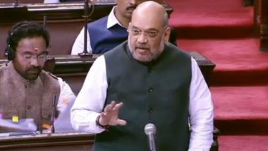 Amit Shah on Jammu And Kashmir in Rajya Sabha: Situation Normal in Valley, Decision on Mobile Internet Services Will Be Taken by Local Admin