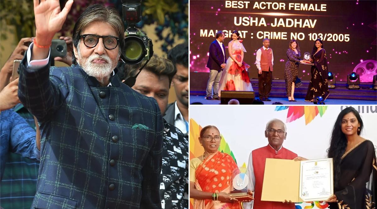 Amitabh Bachchan Congratulates Bhootnath Returns Co-Star Usha Jadhav For Winning Best Actor Award at IFFI 2019 (View Pics)