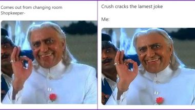 Funny Memes and Jokes Trending on Amrish Puri's Old Picture From Koyla Would Make The Late Actor Say 'Mogambo Khush Hua'
