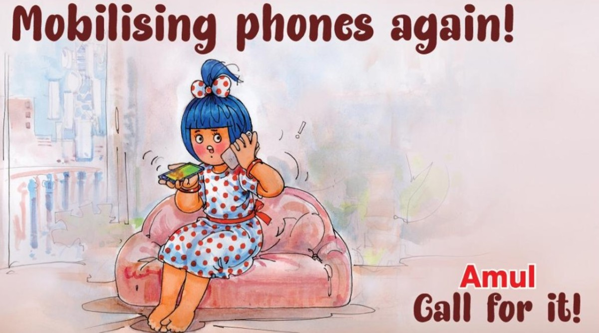 Ravi Shankar Prasad Shares Amul Topical Ad on Government's Move to Defer Spectrum Payout by 2 Years