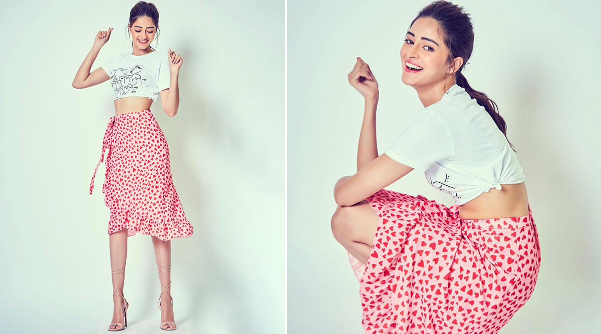 Ananya Panday Slams, Dunks and Scores Chicness With Affordable Style for Pati, Patni Aur Woh Promotions