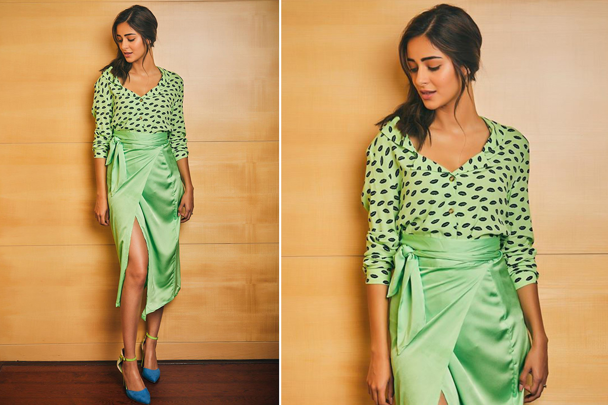 Ananya Panday in Never Fully Dressed separates for Pati,Patni Aur Woh promotions (1)