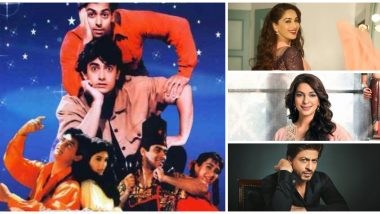 25 Years of Andaz Apna Apna: From Amitabh Bachchan to Shah Rukh Khan, 9 Popular Celebs Who Were Name-Dropped or Made Cameos in the Aamir Khan, Salman Khan Starrer