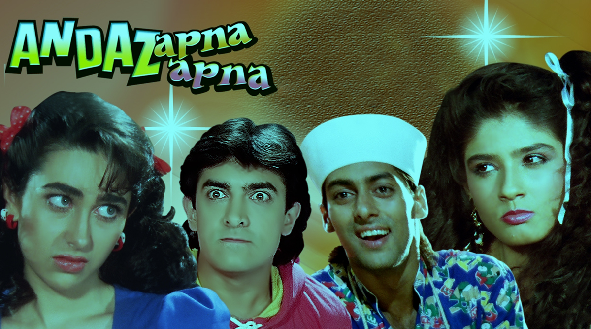 Andaz Apna Apna Completes 25 Years: Why This Aamir Khan and Salman Khan Starrer Is One of the Iconic Comedies of All Time!