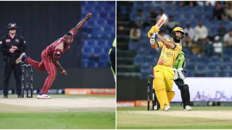 Abu Dhabi T10 League 2019 Live Streaming of Northern Warriors vs Team Abu Dhabi on Sony Liv: How to Watch Free Live Telecast of NOR vs TAB on TV & Cricket Score Updates in India