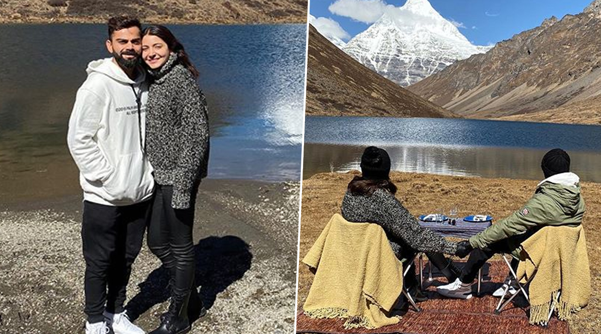 Virat Kohli and Anushka Sharma Are 'Grateful' For Their Quaint Date Amid the Mountains (View Pics)