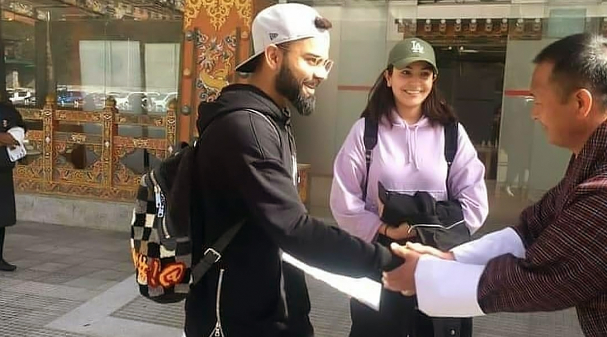 Anushka Sharma and Virat Kohli Spotted in Bhutan Ahead of the Indian Skipper's 31st Birthday (View Pics)