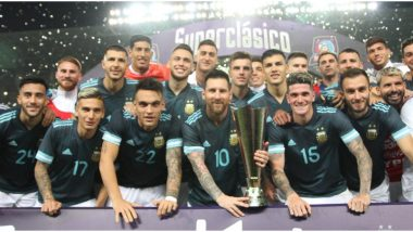 Lionel Messi Leads Argentina to Superclasico De Las Americas Title Against Brazil; Relieved Fans Praise La Pulga for Lifting International Trophy, Renew Cristiano Ronaldo Comparison