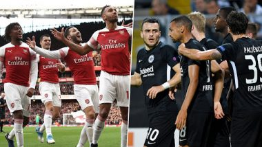 Arsenal vs Eintracht Frankfurt, UEFA Europa League 2019–20 Live Streaming Online: Where to Watch ARS vs FRK Group Stage Match Live Telecast on TV & Free Football Score Updates in Indian Time?