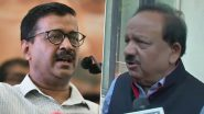 Arvind Kejriwal Calls BIS Report on Delhi Water as 'Politically Motivated', Advises Dr Harsh Vardhan to Stay Away From 'Dirty Politics'