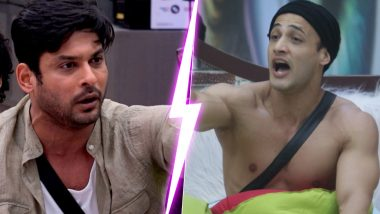 Bigg Boss 13: Sidharth Shukla Wins It Big After His Fight With Asim Riaz, Grabs More Than 60% Votes in His Favour (Poll's Result Inside)