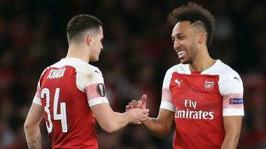 Granit Xhaka Stripped of Arsenal Captaincy, Aubameyang Appointed New Permanent Captain