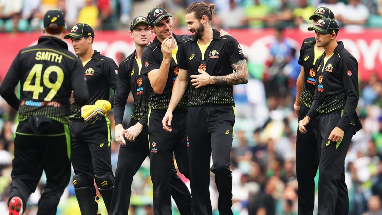 Live Cricket Streaming of Australia Vs Pakistan, 2nd T20I 2019 on Sony Six & PTV Sports: Check Live Cricket Score, Watch Free Telecast of AUS vs PAK on TV and Online