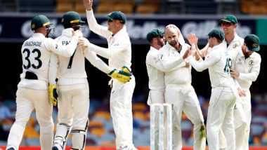 Australia Defeat Pakistan by an Innings and Five Runs in 1st Test to Take 1–0 Lead in the Series, Netizens Hail Dominant Performance by Hosts