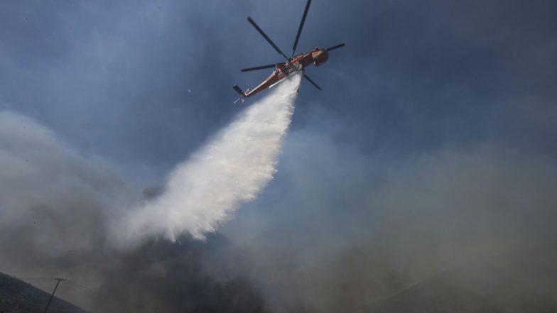 Australia Bushfires: Helicopter Crashes During Queensland Fire Operation, Pilot Survives