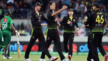 Live Cricket Streaming of Australia Vs Pakistan, 3rd T20I 2019 on Sony Six & PTV Sports: Check Live Cricket Score, Watch Free Telecast of AUS vs PAK on TV and Online