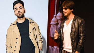 Ayushmann Khurrana Wants to Write a Script for Shah Rukh Khan, Is the Actor Listening? (View Tweet)