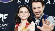 Avengers: Endgame - This Deleted Scene Shows Robert Downey Jr's Tony Stark Having a Heartfelt Conversation with his Grown up Daughter, Morgan (Watch Video)