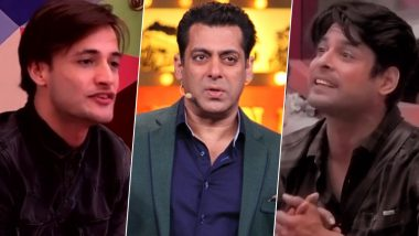 Bigg Boss 13: Sidharth Shukla and Asim Riaz's War Makes Salman Khan's Reality Show a Hit, Finally Enters the Top 10 List!