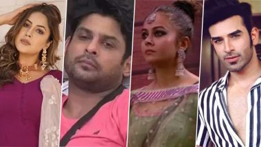 Bigg Boss 13: Shehnaaz Gill, Sidharth Shukla, Devoleena Bhattacharjee, Paras Chhabra… Who Will Get Evicted This Week? Vote Now