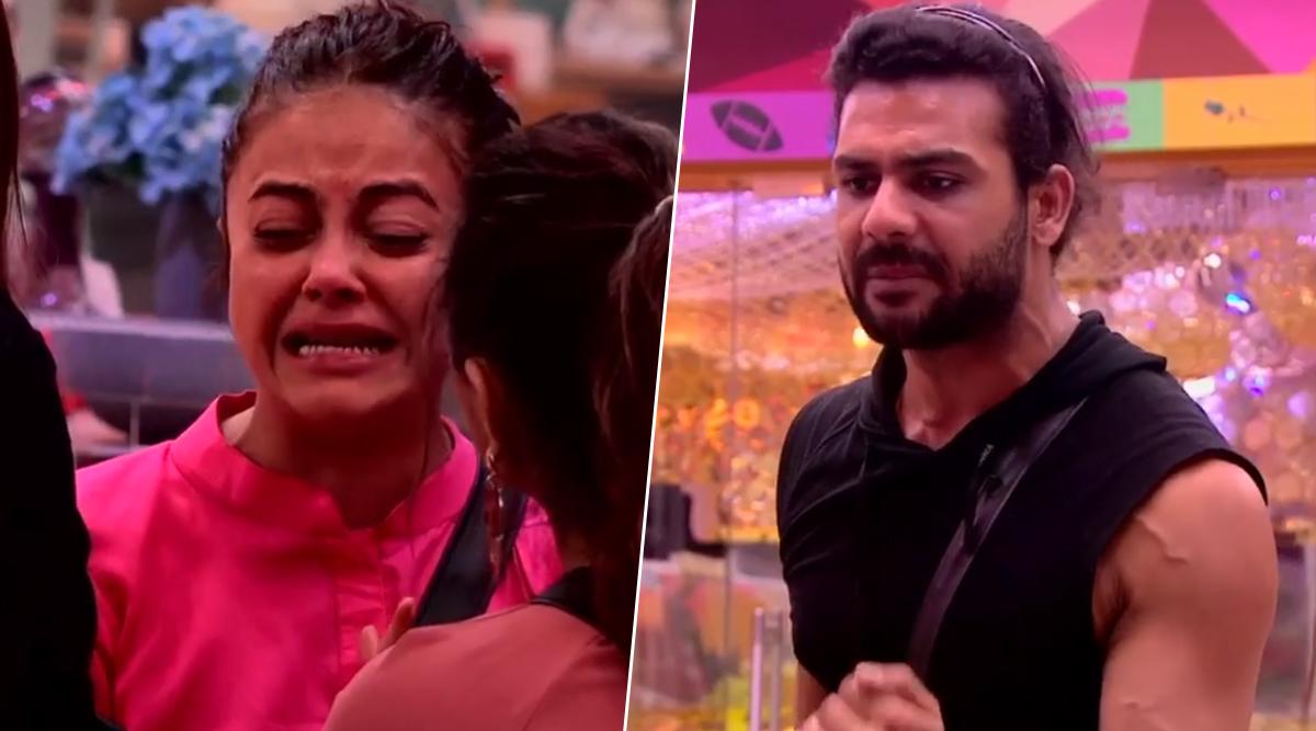 Bigg Boss 13: Devoleena Bhattacharjee CRIES and YELLS After Vishal Aditya Singh Spills a Secret to the Housemates (Watch Video)