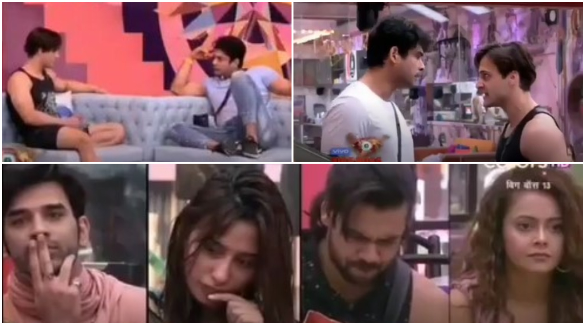 Bigg Boss 13 Day 45 Preview: Sidharth Shukla Gets Into a Physical Fight With Asim Riaz and the Lazy Housemates Get Punished (Watch Video)