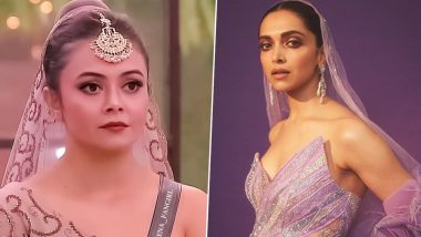 Bigg Boss 13: Devoleena Bhattacharjee's Latest Fashion Outing Reminds Us of Deepika Padukone's Trolled IIFA 2019 Look (View Pics)