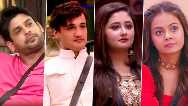 Bigg Boss 13: Sidharth Shukla, Asim Riaz, Rashami Desai, Devoleena Bhattacharjee and More, Who Will Be Evicted This Week? Vote Now!