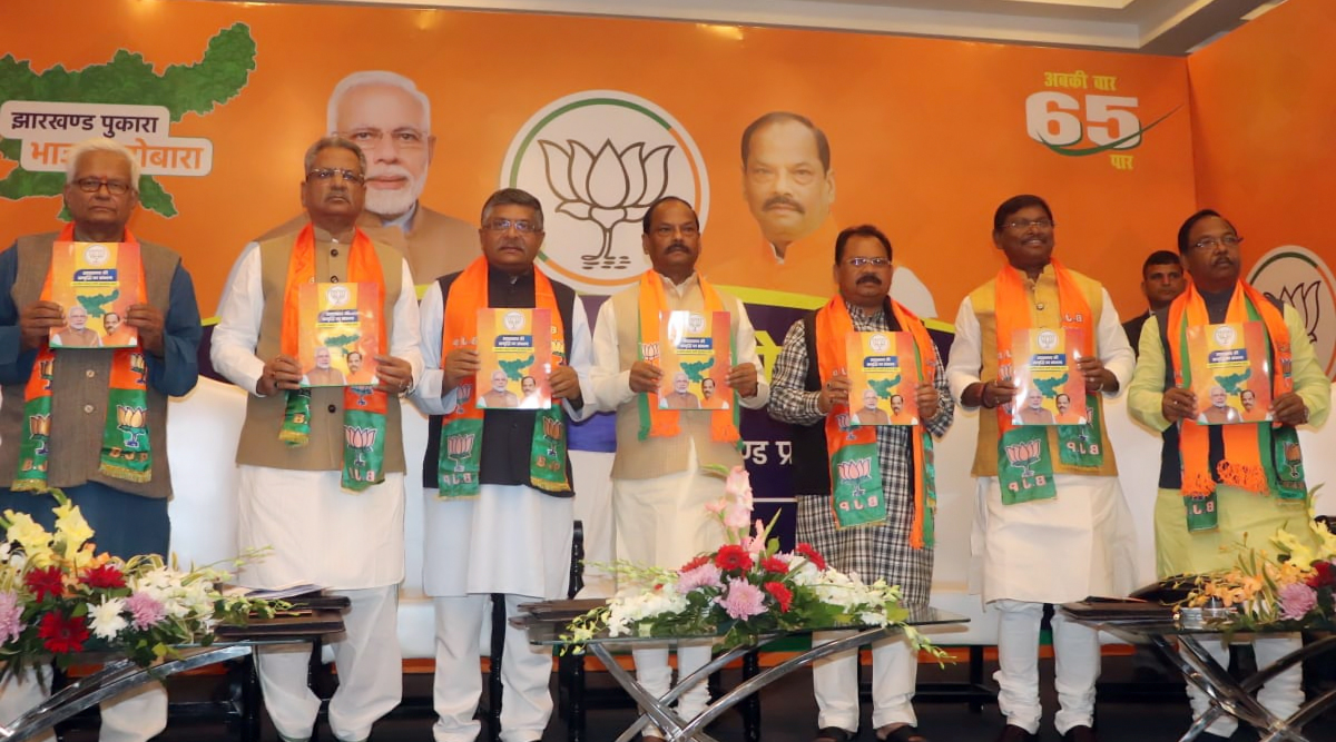 BJP Manifesto For Jharkhand Assembly Elections 2019; From Jobs For BPL Families to Scholarships and Subsidised Loans, Here Are the Highlights