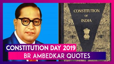 Constitution Day 2019: Remembering BR Ambedkar 'Father Of Indian Constitution' Through His Quotes