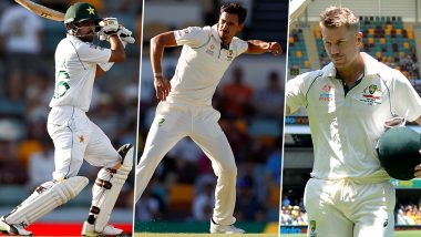 Australia vs Pakistan, 2nd Test 2019, Key Players: David Warner, Babar Azam, Mitchell Starc and Other Cricketers to Watch Out for in Adelaide