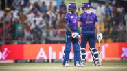 Abu Dhabi T10 League 2019 Live Streaming of Bangla Tigers vs Northern Warriors Online on Sony Liv: How to Watch Free Live Telecast of BAT vs NOR on TV & Cricket Score Updates in India