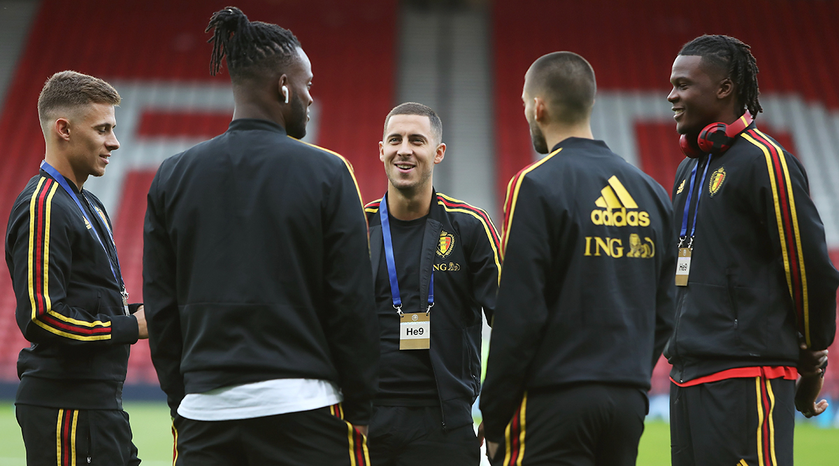Russia vs Belgium, UEFA EURO Qualifiers 2020 Live Streaming Online & Match Time in IST: How to Get Live Telecast of RUS vs BEL on TV & Football Score Updates in India