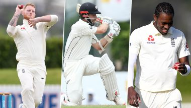 New Zealand vs England, 1st Test 2019, Key Players: Ben Stokes, Kane Williamson, Jofra Archer and Other Cricketers to Watch Out for in Mount Maunganui