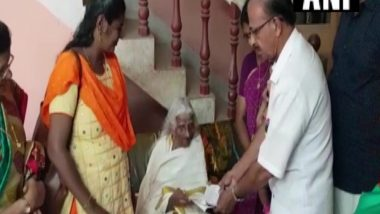 Age is Just a Number! 105-Year-Old Bhageerathi Amma From Kerala Gives 4th Standard Exam
