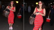 Airport Style: Bhumi Pednekar Brings Some Stripes, Sass and High-Street Chicness!