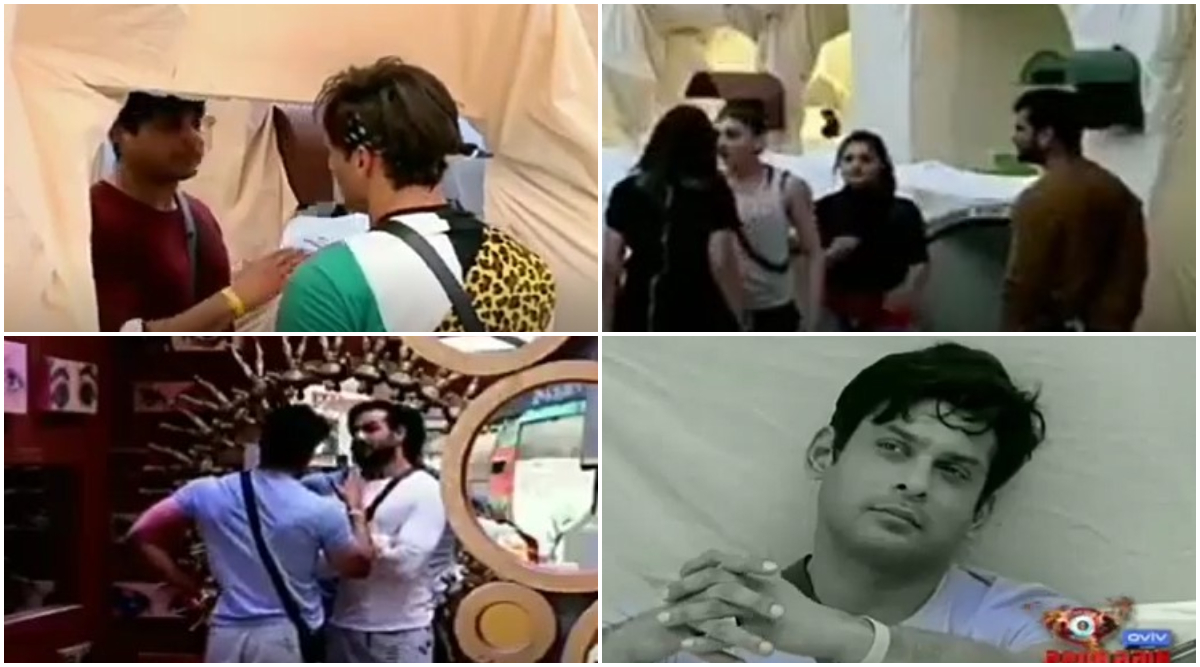 Bigg Boss 13 Day 44 Preview: Sidharth Shukla Plots to Kick Rashami Desai Out of the Captaincy Task by Joining Hands With 'Demon' Vishal Aditya Singh (Watch Video)