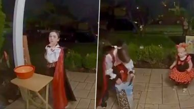 Video of Little Boy Filling an Empty Candy Bowl at Stranger's House During Halloween Goes Viral, His Adorable Gesture Wins Hearts Online