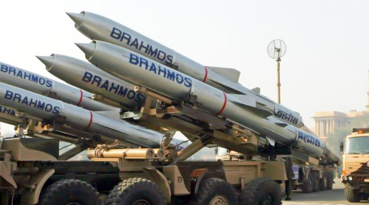 BrahMos Supersonic Cruise Missile Successfully Test-Fired by Indian Navy in Arabian Sea