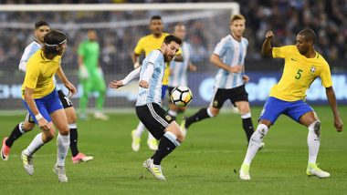 Argentina vs Brazil, Copa America 2021 Final Live Streaming Online & Match Time in IST: How to Get Live Telecast of ARG vs BRA on TV & Free Football Score Updates in India