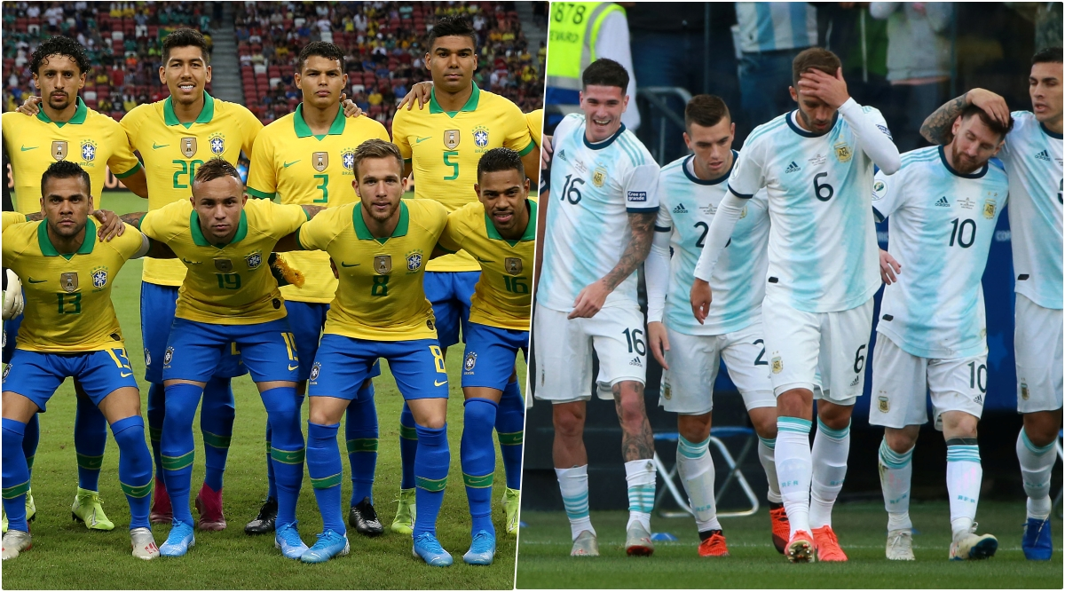 Brazil vs Argentina, International Friendly 2019 Live Streaming & Match Time in IST: How to Watch Free Live Telecast of BRA vs ARG on TV & Free Online Stream Details of Friendlies Football Match in India