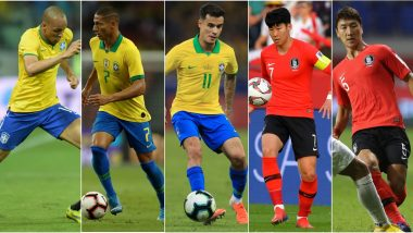 BRA vs KOR, International Friendly 2019 Match: From Philippe Coutinho to Heung Min-Son, 5 Players to Watch Out for in Brazil vs South Korea Football Game